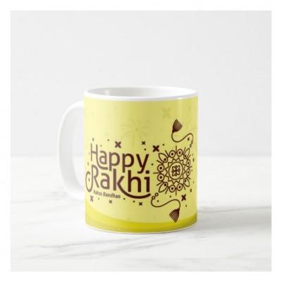 RAKSHABANDHAN WHITE COFFEE MUG 3